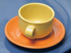Tazza da caffè in ceramica con piattinoIL GRANCOLORE | Tazza da caffè - GRUPPO ROMANI