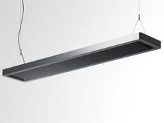 Lampada a sospensione a luce indiretta fluorescente in alluminio ESPRIT | Lampada a sospensione a luce indiretta -