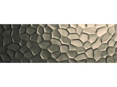 Rivestimento tridimensionale in ceramicaESSENZIALE | Struttura Metal 3D Deco - MARAZZI GROUP