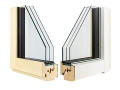Finestra in alluminio e legno con triplo vetroETERNITY CLIMA MINIMAL - ALPILEGNO
