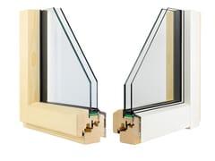 Finestra in alluminio e legno con doppio vetroETERNITY MINIMAL - ALPILEGNO