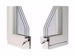 Finestra a battente in alluminio con triplo vetroETERNITY TOP RADIANTE - ALPILEGNO