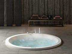 Vasca da bagno a 2 posti idromassaggio da incassoETHOS ROUND 180 - ALBATROS