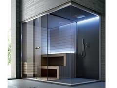 Sauna con doccia con cromoterapia ETHOS | Sauna con cromoterapia - Ethos