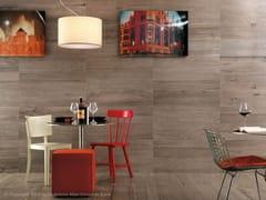Rivestimento in gres porcellanato effetto legno per interni ETIC | Rivestimento in gres porcellanato - Etic