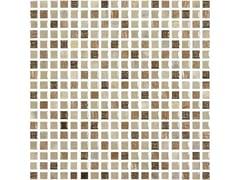 Mosaico in vetroETNOCHIC | Avorio-Bronzo - ARMONIE CERAMICHE