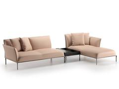 Divano componibile con chaise longueEUFOLIA | Divano con chaise longue - NATUZZI