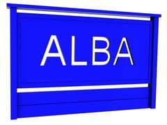 Parapetto in alluminioEUROPA - ALBA