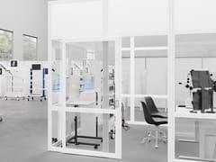 Parete mobile in vetro e HPLEUROPOROOM MEDICAL - GLIMAKRA OF SWEDEN