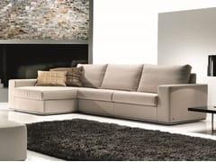 Divano componibile in tessuto con chaise longueEVER | Divano componibile - FORMER IN ITALIA