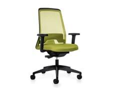 Sedia ufficio operativa ergonomica girevole in rete EVERY IS1 172/182E -