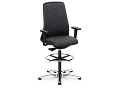 Sedia ufficio operativa ergonomica girevole in tessuto EVERY IS1 196E -