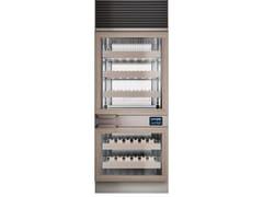 Cantinetta frigo con anta in vetroEXPO WINE 2T - HIZONE BY ISA