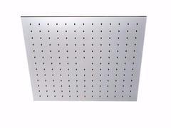 Soffione doccia a pioggia a soffitto da incasso in acciaio inox PABLOLUX - F1725 - Pablolux