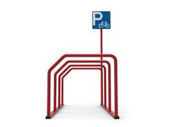 City Design, FABIUS Portabici in acciaio zincato