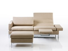 Divano reclinabile in tessuto TOMO | Divano in tessuto - Tomo
