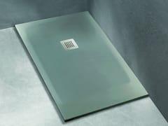 Piatto doccia rettangolare in Solid SurfaceFACE - BLUBLEU