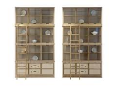 Libreria in legno e vetro con cassettiFACTORY | Libreria - ROCHE BOBOIS