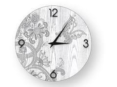 Orologio da parete in legno stuccato FANTASY COLD | Orologio - DOLCEVITA MARRAKECH