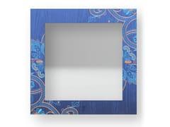 Specchio quadrato da parete con cornice FANTASY COLORS | Specchio - DOLCEVITA MARRAKECH