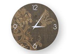 Orologio da parete in legno stuccato FANTASY WARM | Orologio - DOLCEVITA MARRAKECH