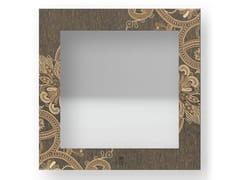 Specchio quadrato da parete con cornice FANTASY WARM | Specchio - DOLCEVITA MARRAKECH