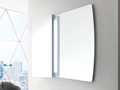 ARBLU, FARFALLA Specchio rettangolare da parete per bagno