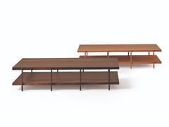 Tavolino rettangolare in legno FARNSWORTH | Tavolino rettangolare - Design