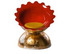 Poltrona in fibra di vetro con cuscino integratoFASHION GOLD - 3.9 DESIGN BY GIÒSANTANTONIO