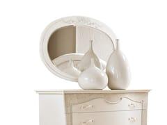 Specchio ovale in legno con cornice da pareteFASHION TIME | Specchio - BARNINI OSEO
