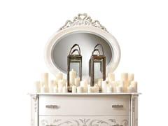 Specchio ovale in legno con cornice da pareteFASHION TIME | Specchio da parete - BARNINI OSEO