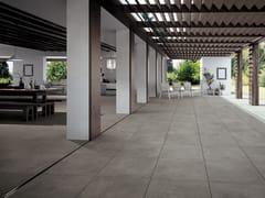 NOVOCERAM, FAST Pavimento in gres porcellanato per interni ed esterni effetto cemento