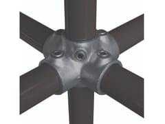 Croce a 4 vie + tubo centraleFASTCLAMP C24 - ARTSTEEL