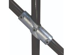 Croce a 2 innesti regolabile (da 30° a 45°)FASTCLAMP C28 - ARTSTEEL