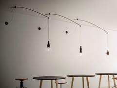 Lampada a sospensione in ceramicaFATE - LENZA - ALDO BERNARDI