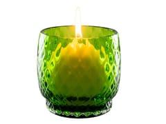 Portacandele in vetro soffiatoFAVILLE | Portacandele in vetro soffiato - VENINI