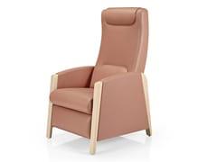 Poltrona reclinabile in pelle con braccioliFEDRA   Poltrona reclinabile - JMS - J. MOREIRA DA SILVA & FILHOS