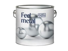 Smalto acrilico idrodiluibile satinato FEEL METAL TOUCH SATIN - Feel