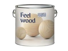 FASSA, FEEL WOOD WET Impregnante per legno idrodiluibile