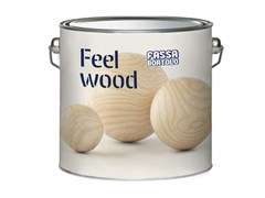 Impregnante di finitura bianco idrodiluibile FEEL WOOD WHITE - Feel