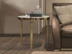 Tavolino di servizio in marmo FELIX   Tavolino da salotto - Loveluxe Vanity