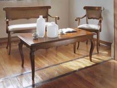 Tavolino rettangolare in legno masselloFENICE | Tavolino in legno massello - ARVESTYLE