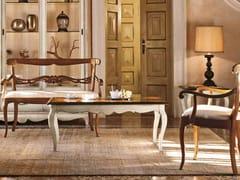 Tavolino rettangolare in legno masselloFENICE | Tavolino - ARVESTYLE