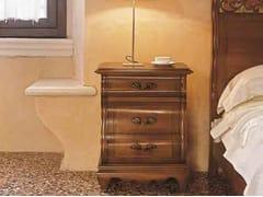 Comodino in legno massello con cassettiFENICE   Comodino in legno massello - ARVESTYLE