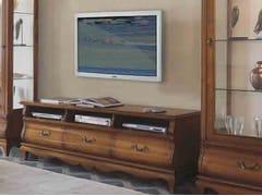 Mobile TV in legno massello con cassettiFENICE | Mobile TV in legno massello - ARVESTYLE