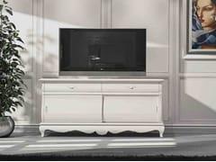 Mobile TV in legno massello con cassettiFENICE | Mobile TV - ARVESTYLE