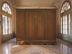 Armadio in legno massello con cassettiera FENICE | Armadio in legno - Fenice