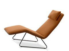 Chaise longue imbottita in tessutoFERGIE - COLOMBINI