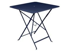 Tavolo pieghevole quadrato in acciaioFERMOB - BISTRO DEEP BLUE - ARCHIPRODUCTS.COM