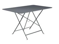 Tavolo da giardino pieghevole rettangolare in acciaioFERMOB - BISTROT ANTHRACITE - ARCHIPRODUCTS.COM